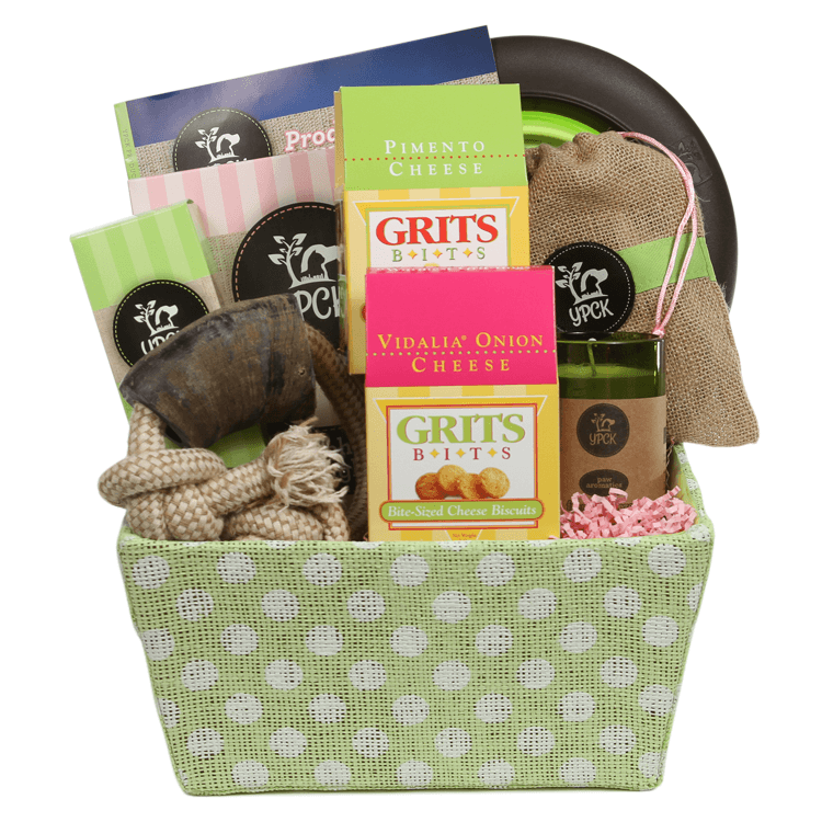 Southern Doggy Gift Basket from Yuppy Puppy City Kitty