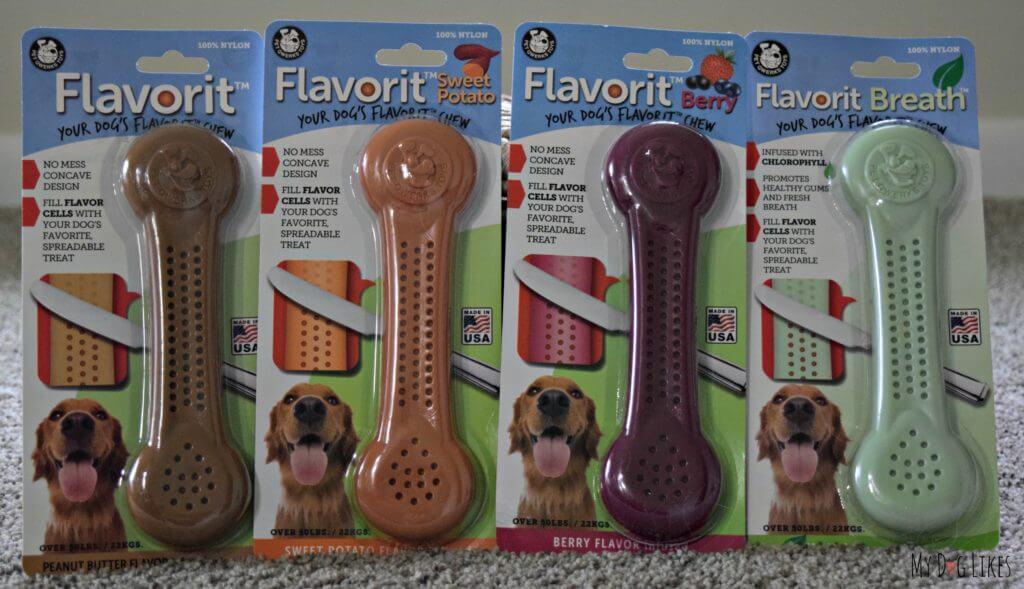 MyDogLikes reviews Flavorit Bones from Pet Qwerks
