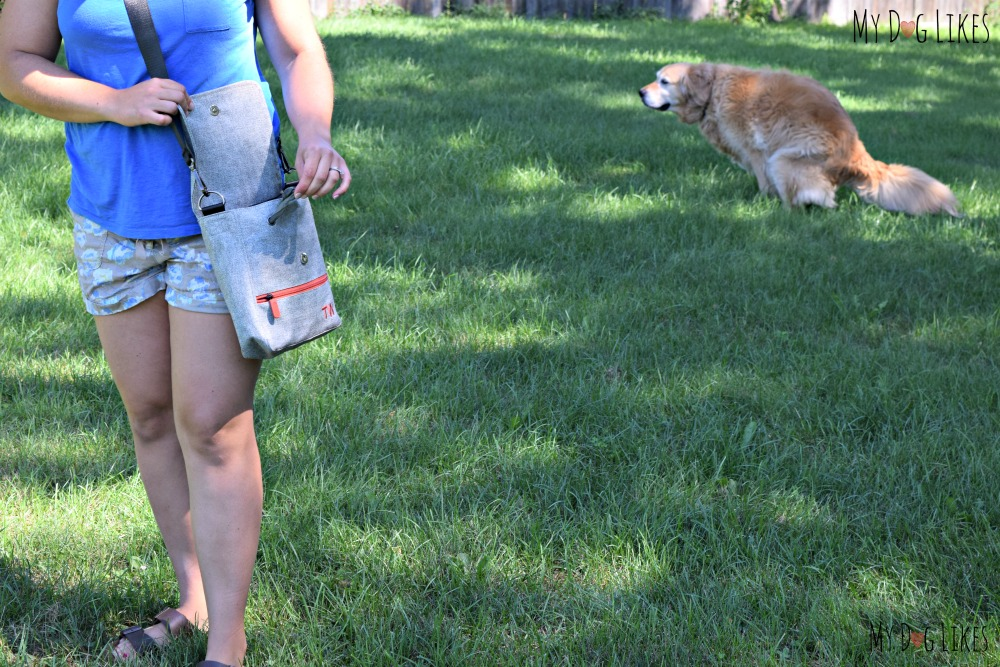 Travel Wags has thought of everything - there is even a poo bag dispenser built right in!
