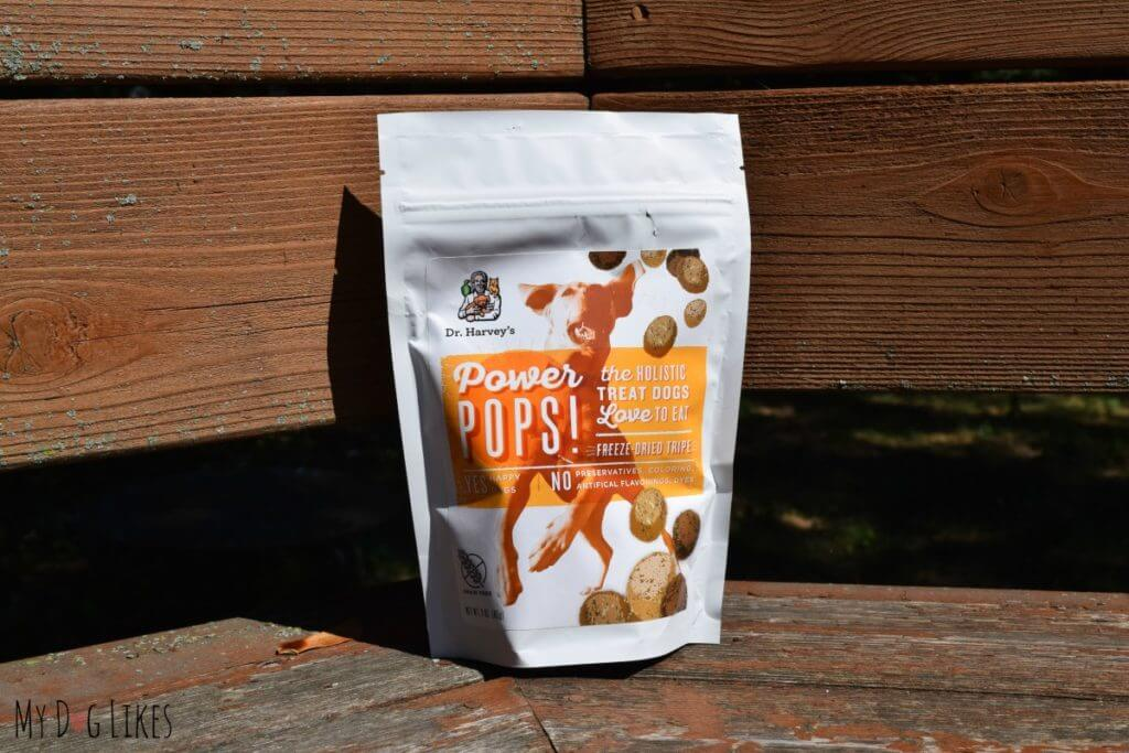 Looking for some great dog training treats? Check out our Dr. Harvey's Power Pops Review!
