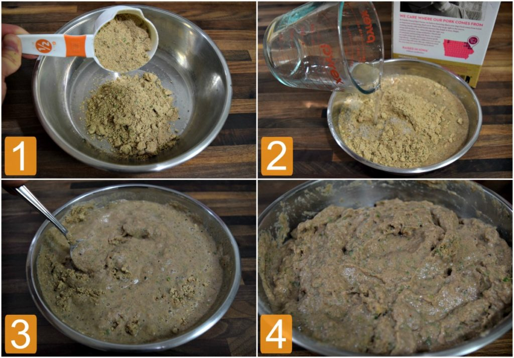 Preparing Spot Farms Dog Food is easy - simply scoop, add water, mix and serve