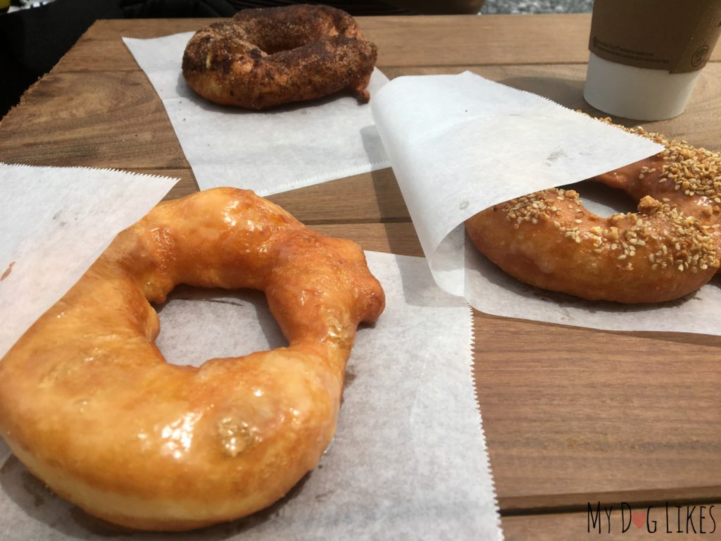 Hole doughnuts makes everything to order so you can enjoy them right out of the fryer!