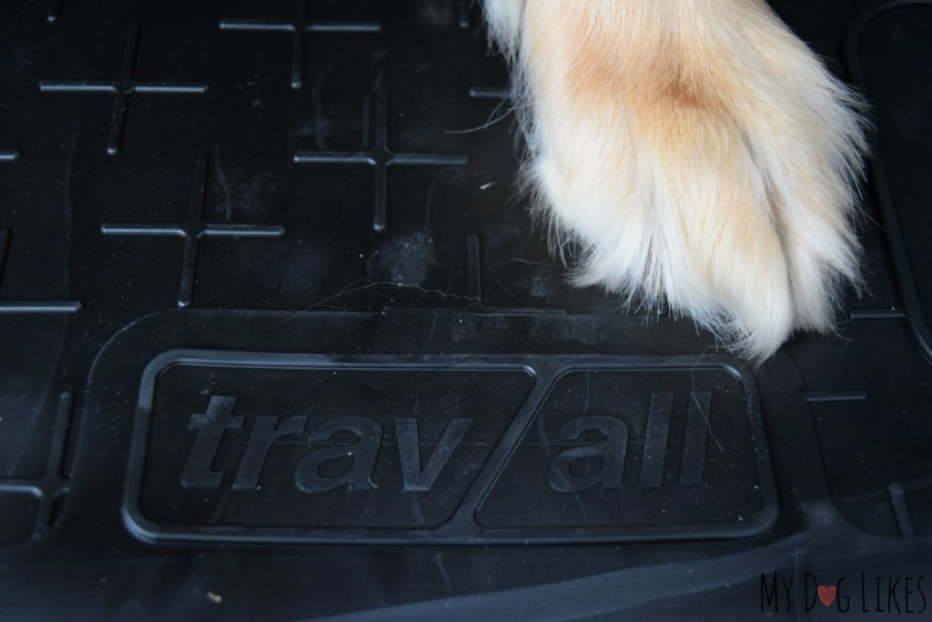 Non-slip grip to provide traction for your dog