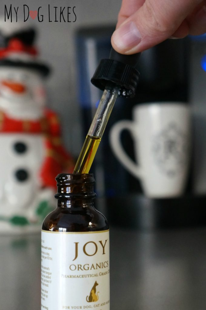 CBD for Dogs Tincture from Joy Organics