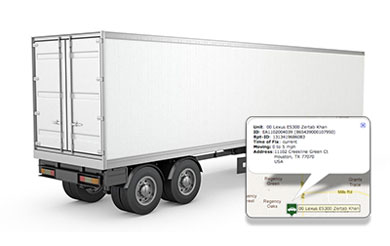 Trailer GPS tracking in real time with 5-year battery  No fees