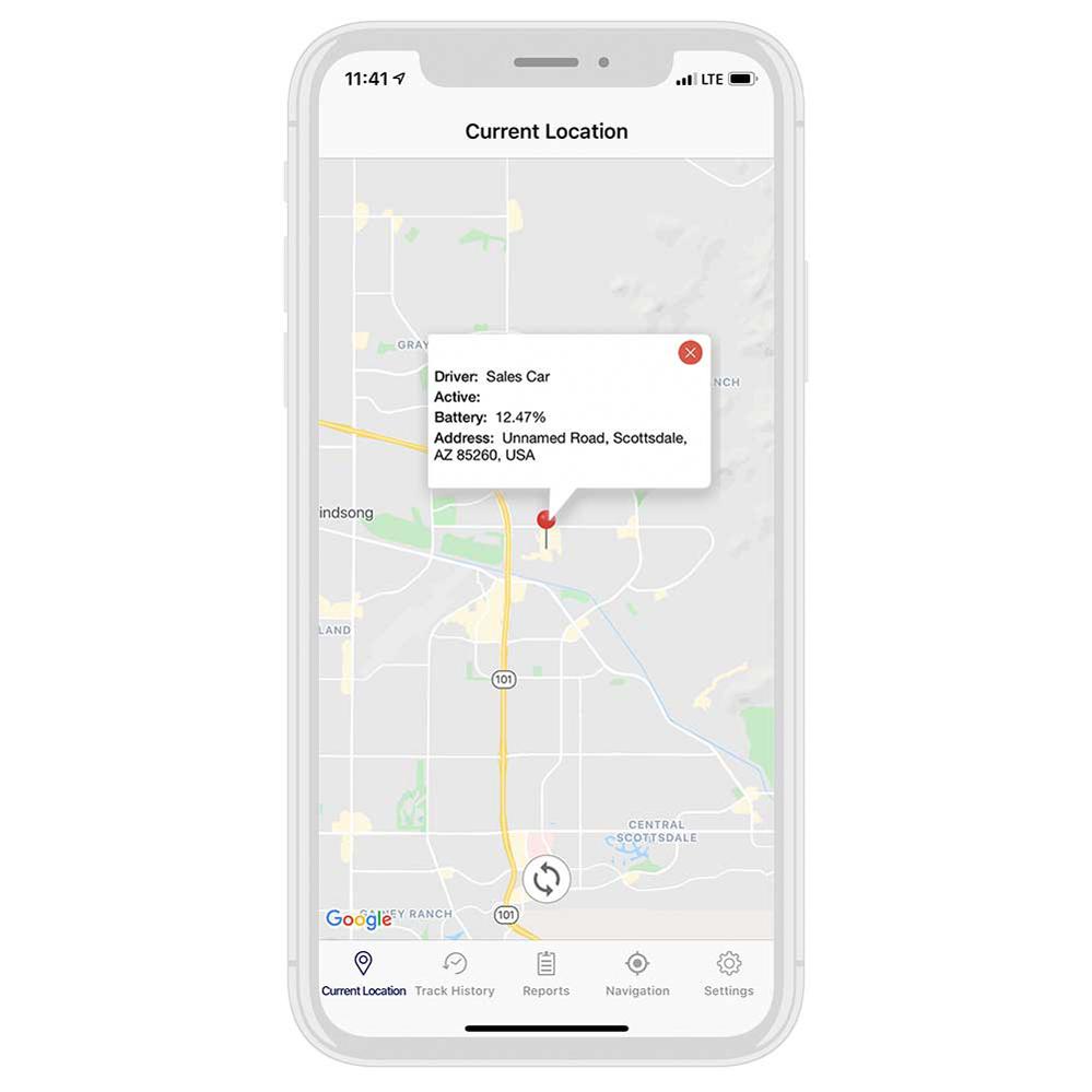 car tracker app