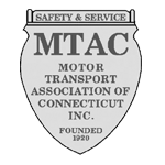 Black and White Motor Transport Association of Connecticut Inc. Logo