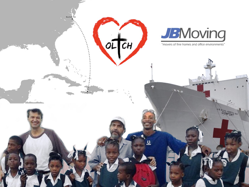 JB Moving helping out the children of Haiti
