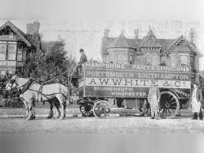 Your Pantechnicon Will Arrive At 8am