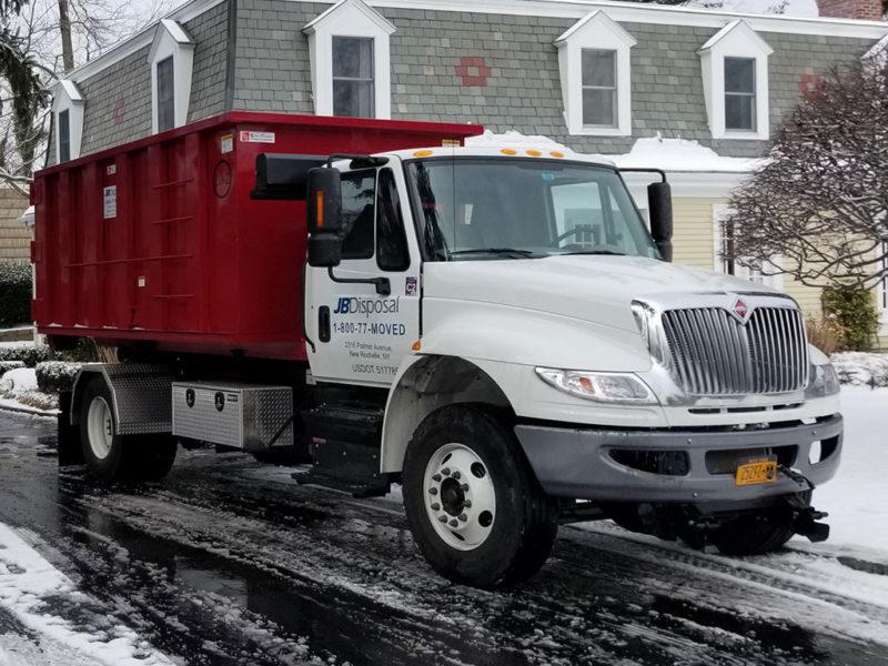 JB Moving Disposal Truck