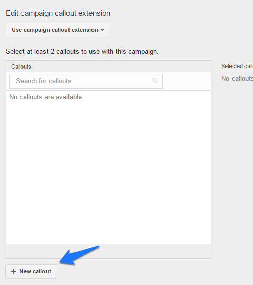 ad extensions step 13