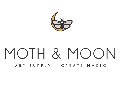 Moth & Moon Art Supplies