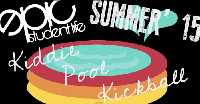 Youth Group Game: Kiddie Pool Kickball