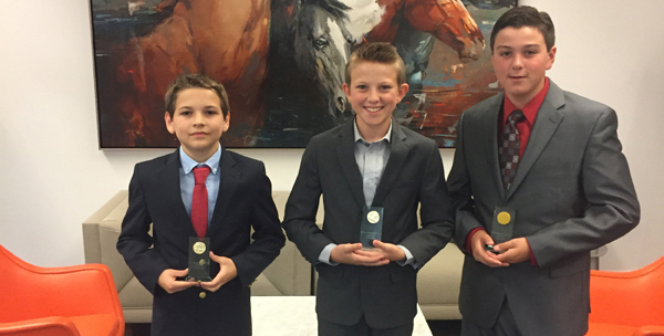 THREE STUDENTS WHO HAVE A DREAM TO MAKE A BIG IMPACT