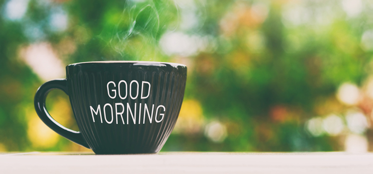 THE BENEFITS OF A MORNING ROUTINE