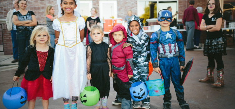 KID'S MINISTRY LESSON ON HALLOWEEN (FEAR)