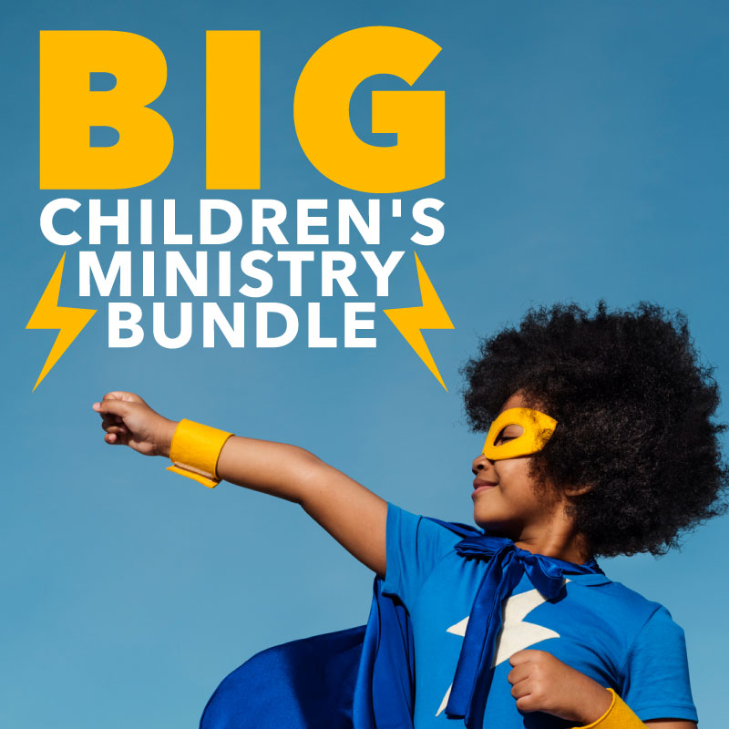 Save 81% on 9 months and $531 worth of children's ministry curriculum for K-5th grade!