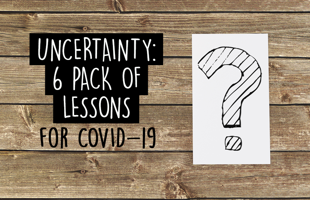 A new 6-pack of youth group lessons helping students wrestle with the COVID-19 pandemic and other uncertain times. In addition to the 6 lessons, you get a bonus Easter lesson from our new SHOOK series.