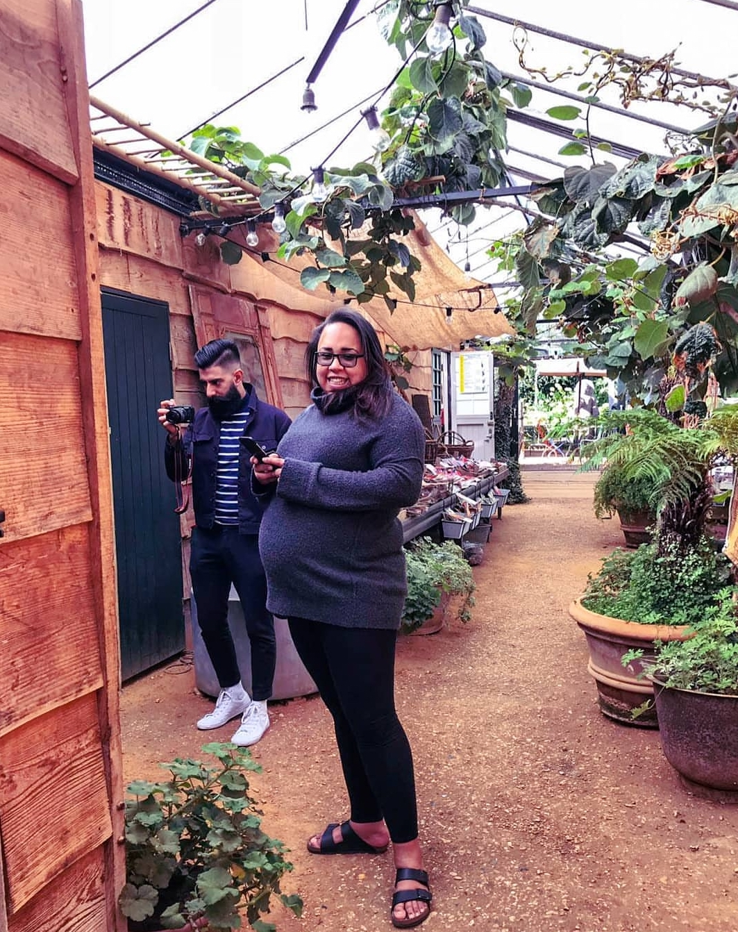 PREGNANT | 9 Months in the Making - Petersham Nurseries, Petersham Nurseries, Pregnant, Pregnancy, Pregnancy Announcement, Preggo, 9 Months Pregnant,Garson's Pick Your Own Farm, Garson's Farm Shop, Glad you got home before, Parenting, Motherhood, Parenting Blogger, Fay Simone