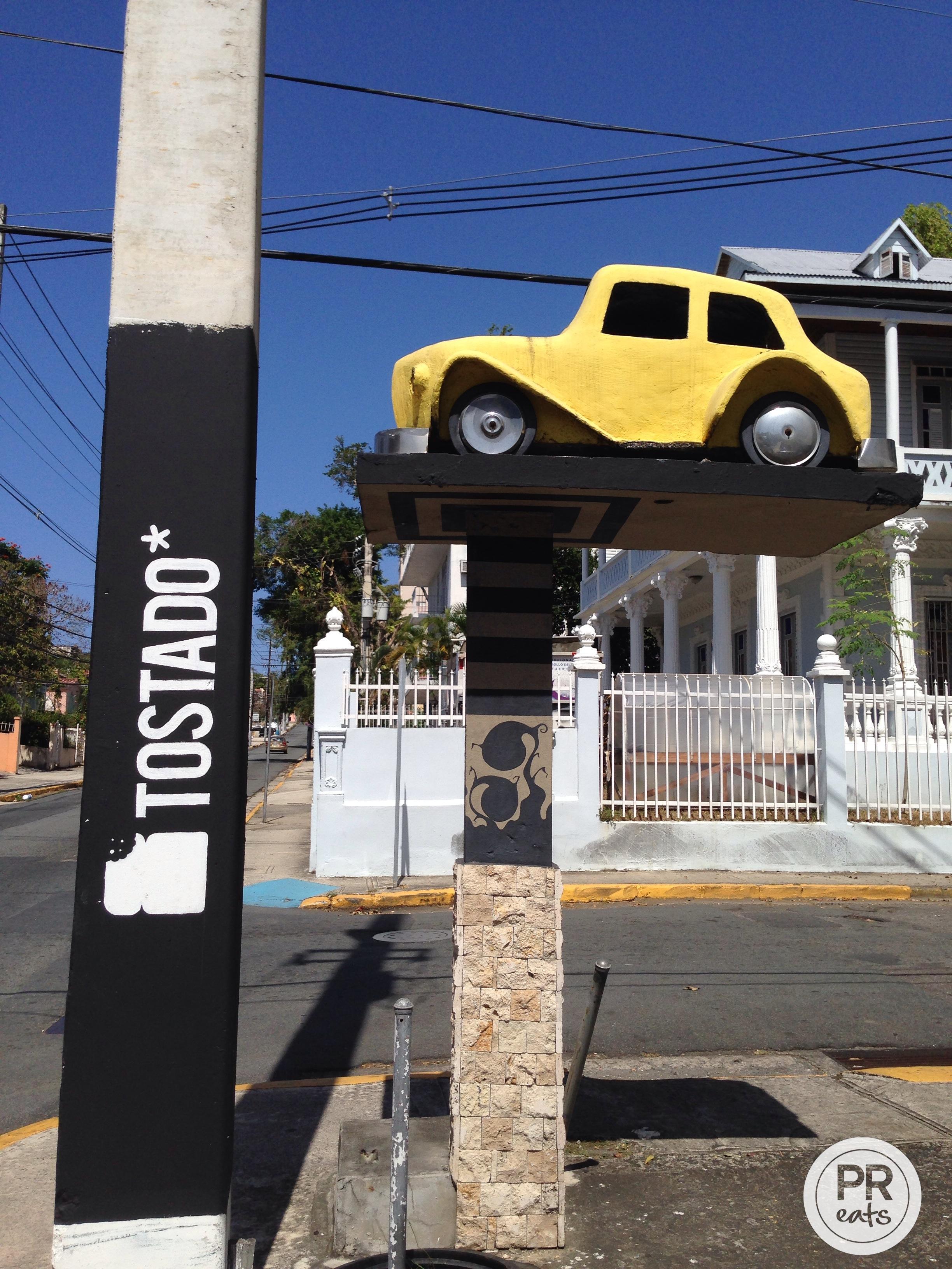 Tostado Car