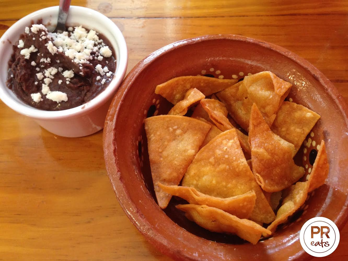 Chips and Refried Beans
