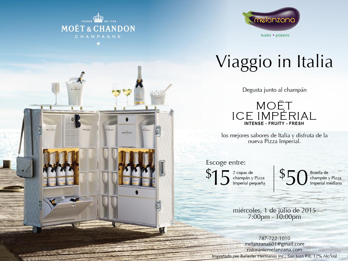 Moet Ice Imperial @ Melanzana Bistro en Miramar