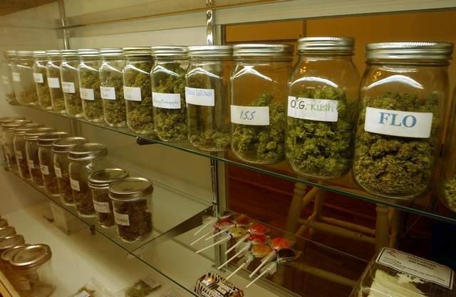 recreational marijuana stores