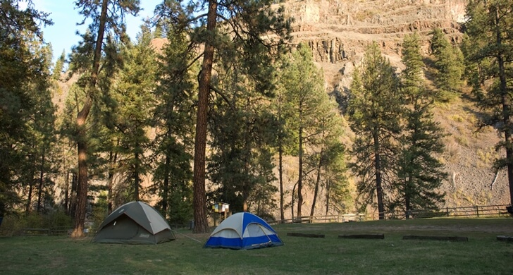 best campgrounds in Oregon