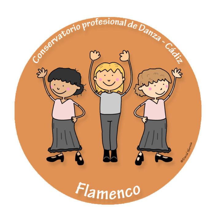 Diseño conservatorio de danza Cádiz - Flamenco-