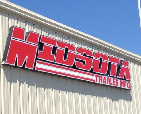 Midsota Trailer MFG Shop Sign