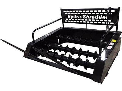 Midsota Skidsteer Hydra Shredder Bale Processor Attachment