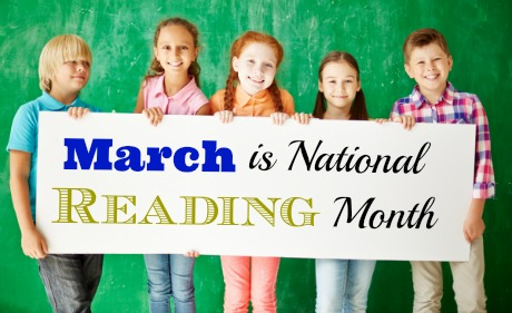 March is National Reading Month