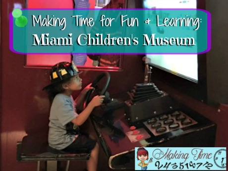 The Miami Children's Museum is a great place for your kids to roam free and have fun learning, while everyone enjoys a little family time!