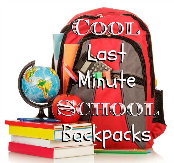 It's not too late to get a super cool backpack in time for your child to head back to school! #backtoschool #b2s #schoolsupplies #backpack