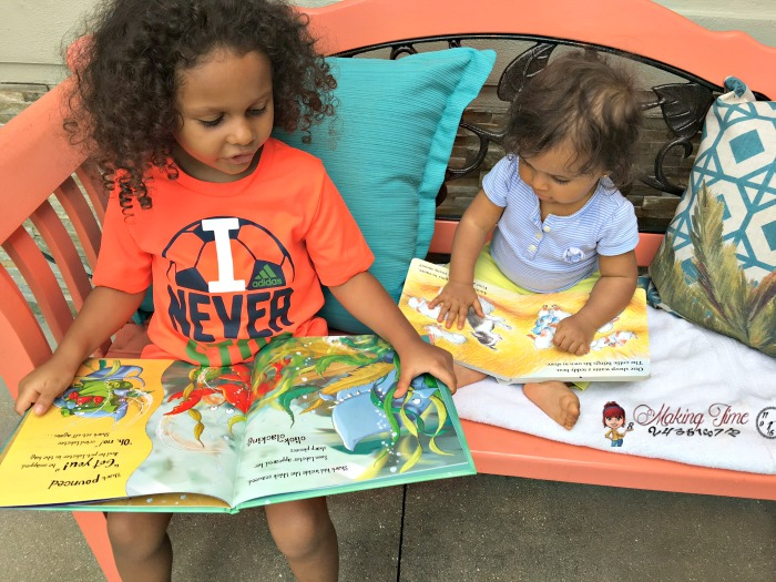 The Story Box provides your children with 2 new story books to explore each month. Subscribe today and save $6 off your first order! #subscriptionbox