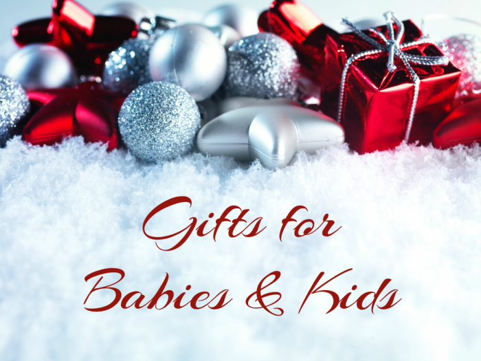 Making Time 2016 Holiday Gift Guide: Gifts for Babies & Kids