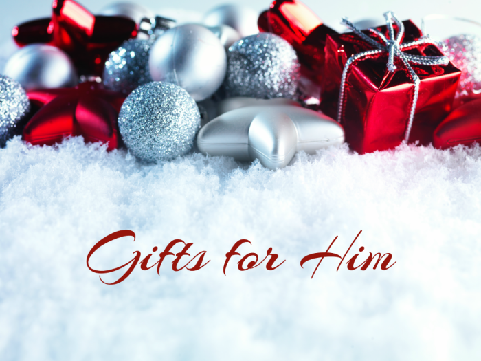 Making Time 2016 Holiday Gift Guide: Gifts for Him