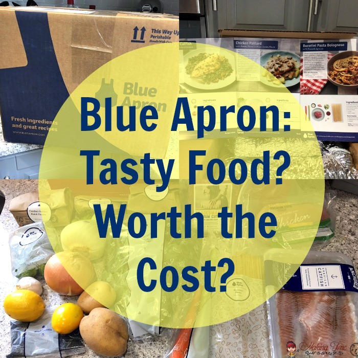 I recently got a great deal on my first Blue Apron delivery, so I took the long awaited plunge and tried it out. Visit the blog to read about my experience and what my thoughts are on whether the food is tasty and if the service is worth its cost. #BlueApron #subscription #fooddelivery