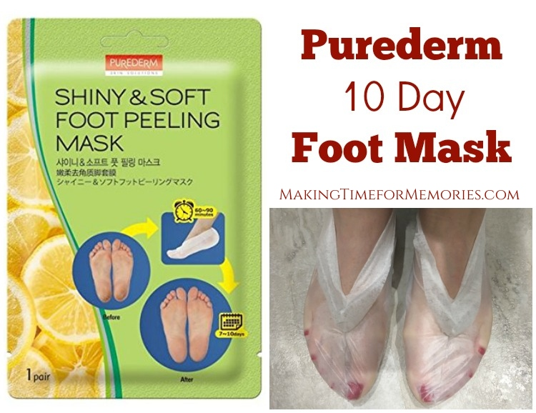 Purederm 10 Day Foot Mask - It really works! ~ #Purederm #footmask