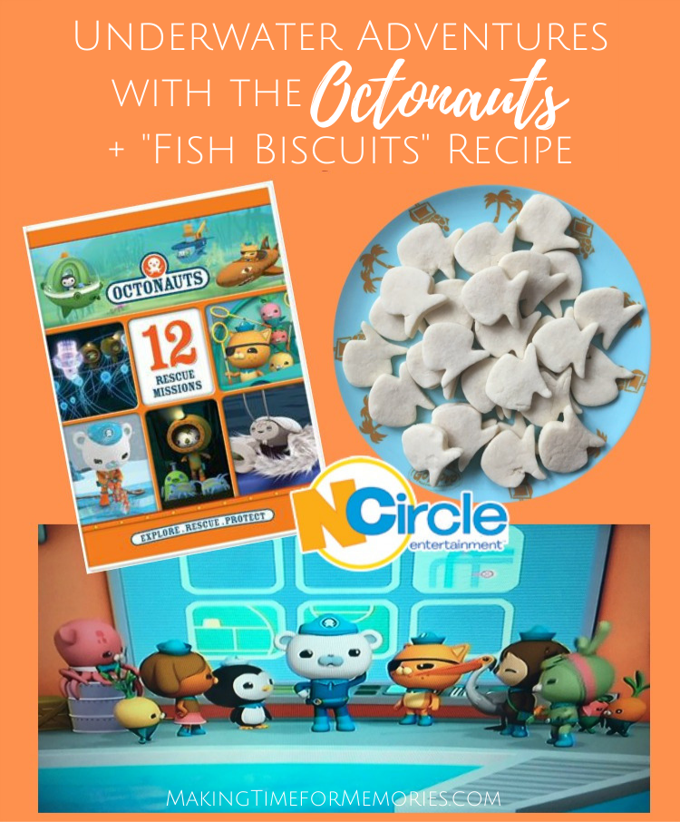 "Underwater Adventures with the Octonauts + ""Fish Biscuit"" Recipe"