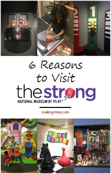 6 Reasons to Visit The Strong National Museum of Play #TheStrongMuseum #NationalMuseumofPlay #hosted