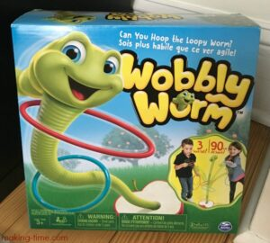 The Wobbly Worm Game from Spin Master made it into the Making Time 2017 Summer Fun Guide! Head over to the blog to see what else made the cut! #SummerFun