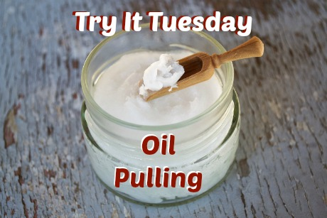 Try It Tuesday: Oil Pulling | I tried oil pulling for 4 weeks and I'm sharing my results with you. Head over to the blog to see how it went! #tryitttuesday #oilpulling #coconutoil