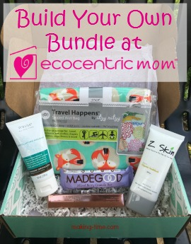 Ecocentric Mom has done away with the Mom and Pregnancy subscription boxes, and are now offering Build Your Own Bundles instead! Check them out! #EcocentricMom #subscriptionbox #ecofriendly
