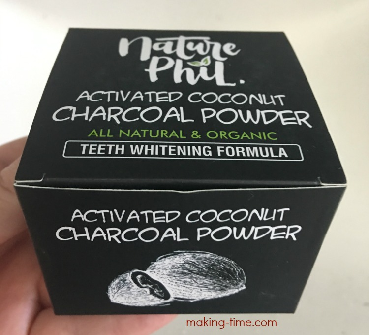 Try It Tuesday: Nature Phil Activated Coconut Charcoal Powder | #TryItTuesday #charcoalpowder #activatedcoconut #teethwhitening #NaturePhil