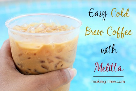 Easy Cold Brew Coffee with Melitta | #Melitta #coldbrew #coffee #pourover