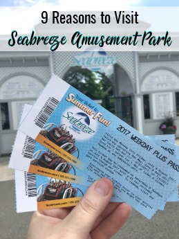 9 Reasons to Visit Seabreeze Amusement Park   #Seabreeze #SeabreezeAmusementPark #summerfun #backtoschool #BTS #Rochester #NY
