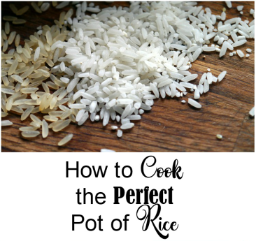How to Cook the Perfect Pot of Rice