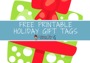 Free Printable Holiday Gift Tags | #free #printable #gifttags