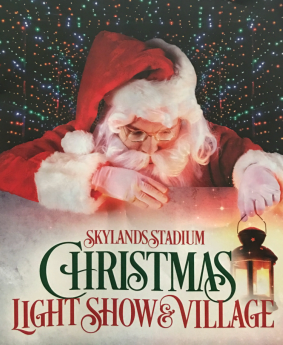 Skylands Stadium Christmas Lights Show 2017 | #SkylandsStadium #ChristmasLights